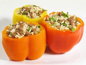 Recept van de week: Gevulde paprika's