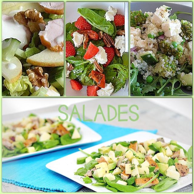 Lekkere en gezonde salades