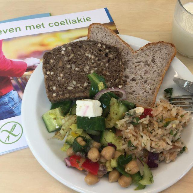 Glutenvrije lunch op cursus coeliakie!