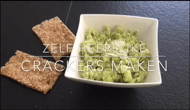Vezelrijke crackers