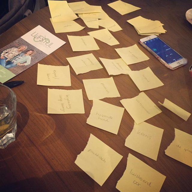 Vandaag hebben we een gave brainstormsessie gehad voor ons project!hellip