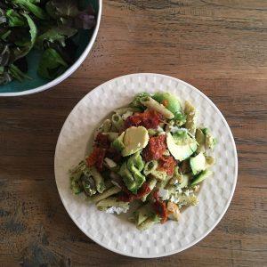 kidsproof groene pasta recept