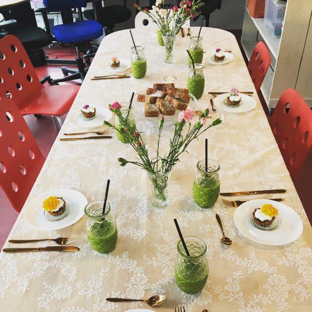 Vanmorgen stond er een heerlijk ontbijt klaar voor de deelnemershellip
