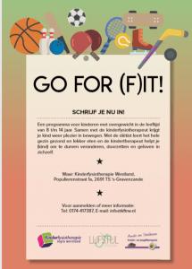 Go for (f)it Lijfstijl
