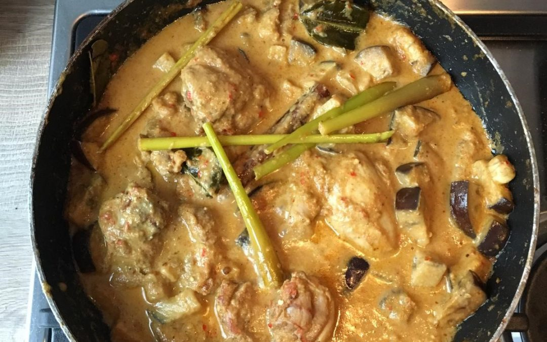 Indonesische kipcurry